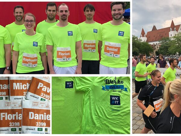 Firmenlauf 2018 WK IT Team